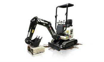 Terex Compact Crawler Excavators » Roeder Implement, Dubuque